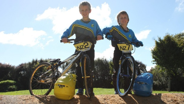 White brothers take on national BMX competition