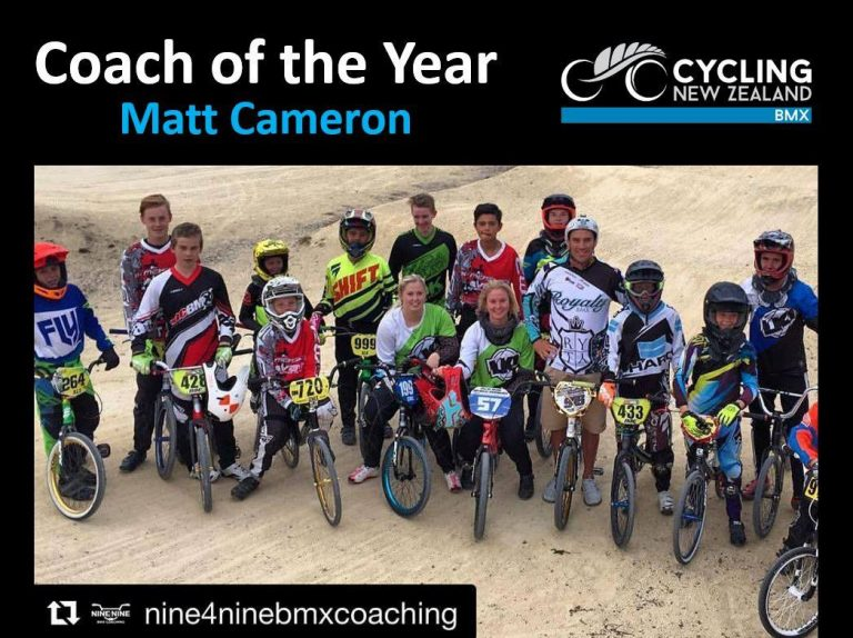 2016 Coach of the Year for BMX