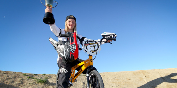 Teenage champion ticking right boxes along path to professionalism
