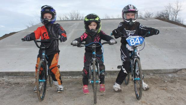 Wheels in motion for Te Aroha BMX track