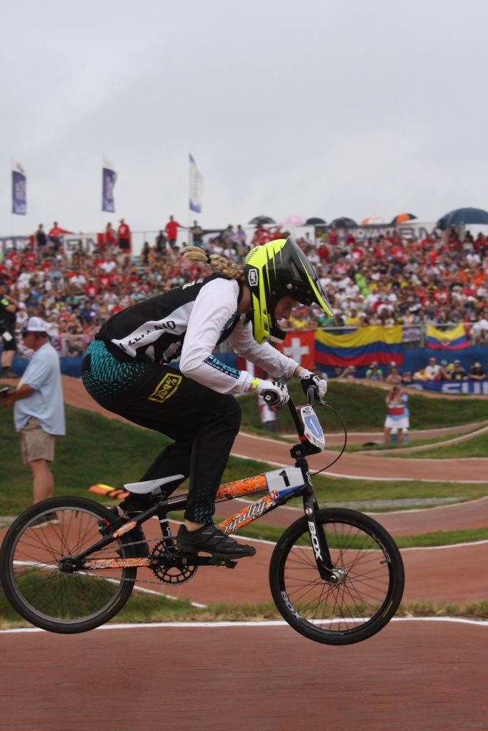Young Cambridge BMX rider makes it five straight World titles