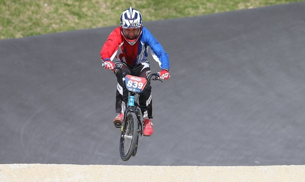 Tauranga BMXer breaks track record at AIMS Games