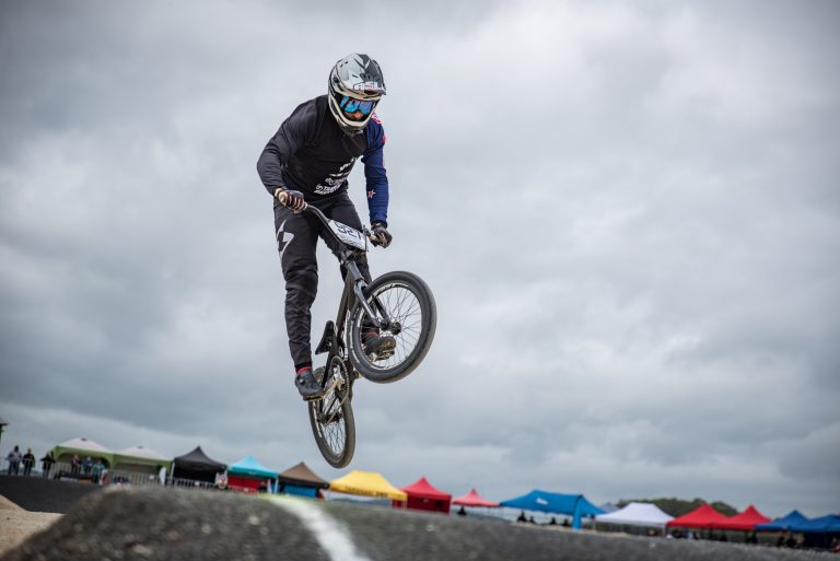 Walker, Jones head elite BMX riders chasing national honours in Christchurch