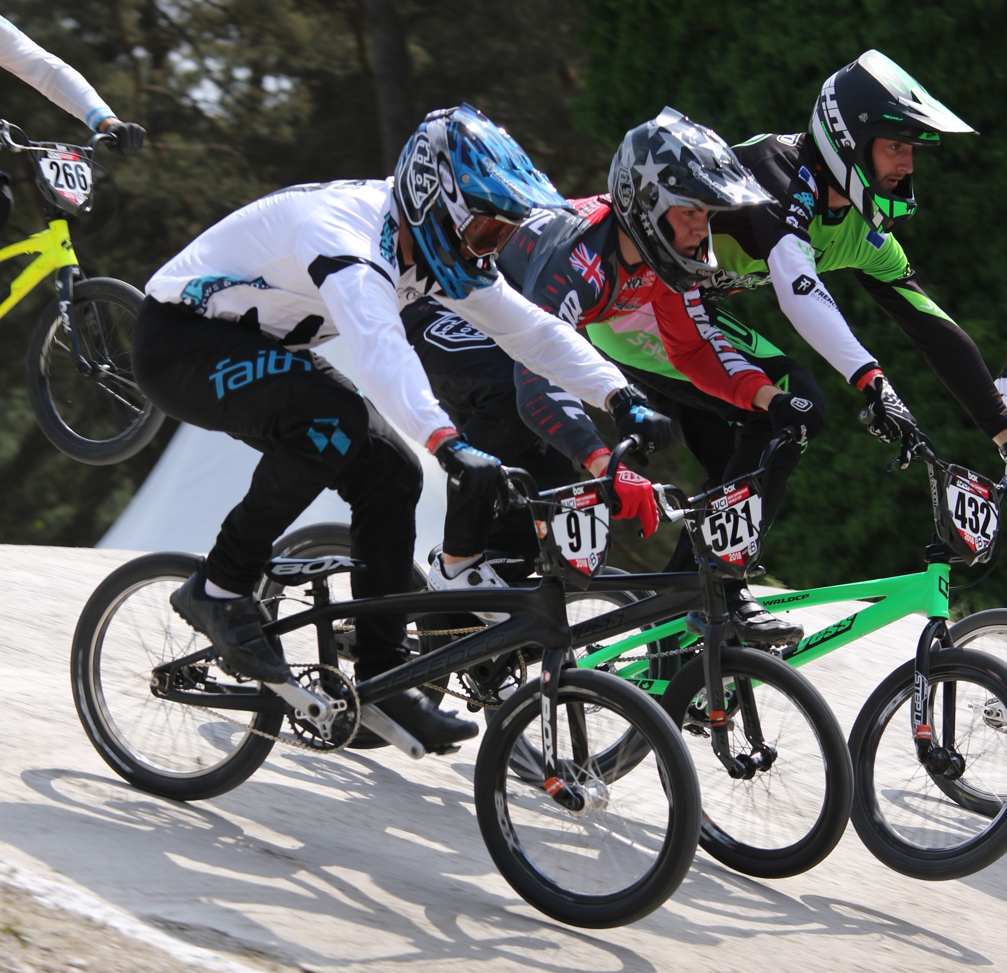 Six elite riders selected for UCI BMX World Championships