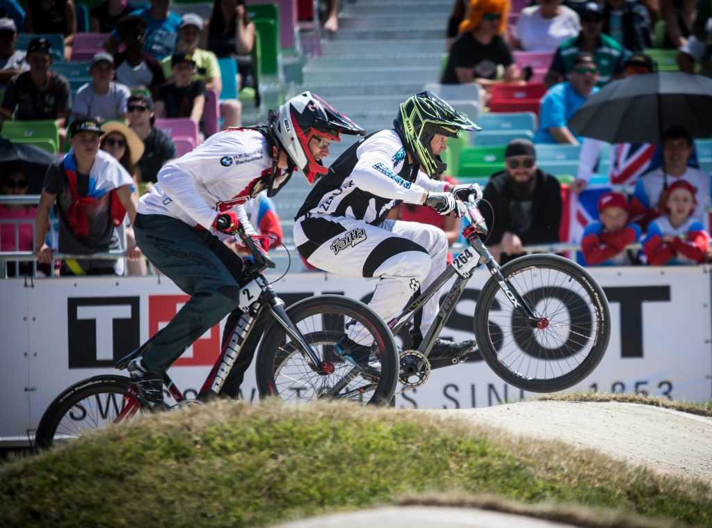 Moonie claims BMX cruiser class world title