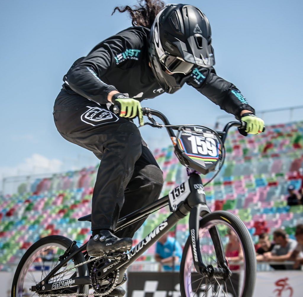 Top-10 finishes for Walker and Smith in BMX Elite Champs