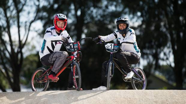 Waikato BMX riders profit from passion, selected for Youth Olympics