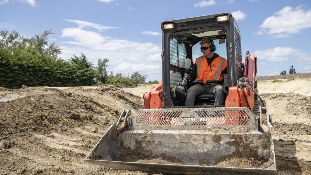 Trent Jones helping build world-class track in Rangiora