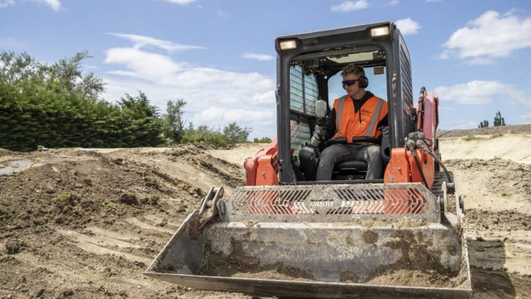 Trent Jones helping build world-class track in Rangiora