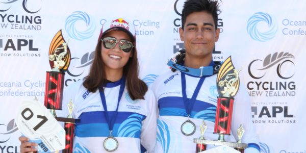 Australian brother and sister take out Oceania BMX titles in Te Awamutu