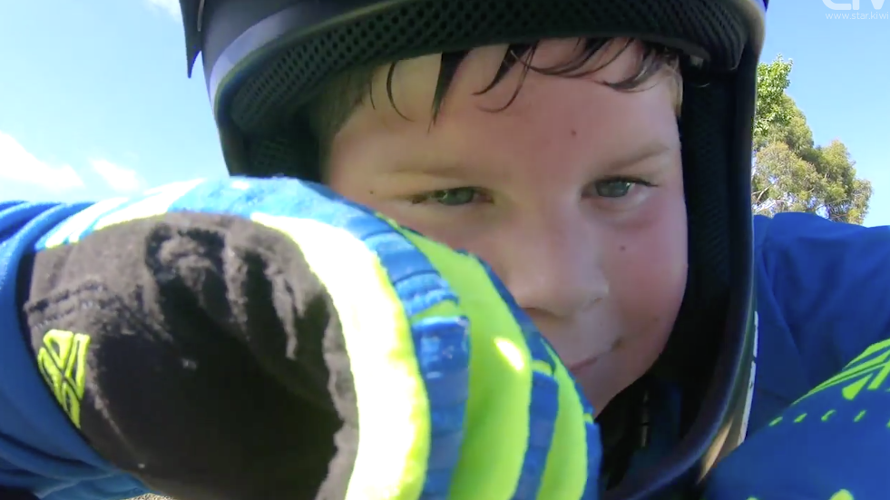 Christchurch boy with autism finds joy on BMX track
