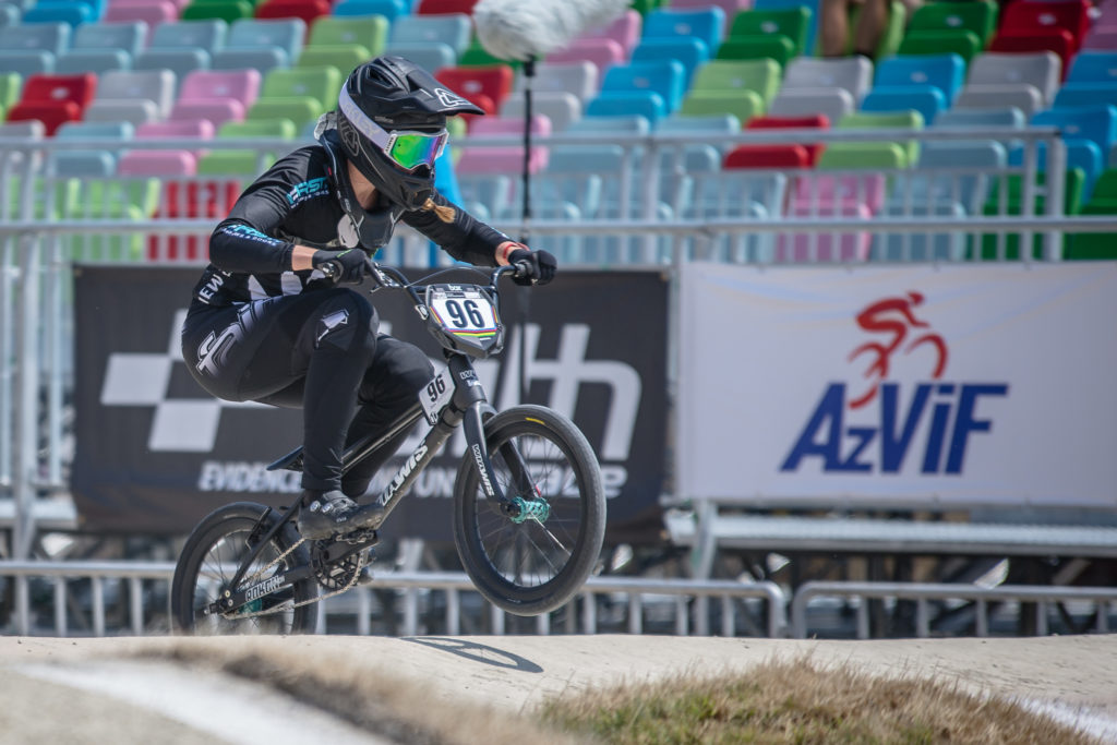 Walker excited after making final in BMX World Cup in Manchester