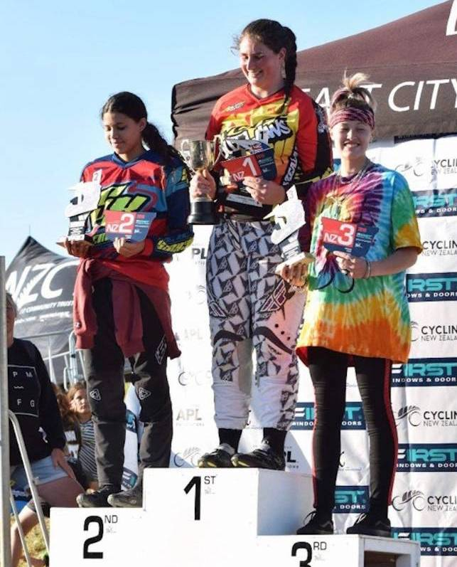 Hāwera BMX club taste more success at nationals in Auckland