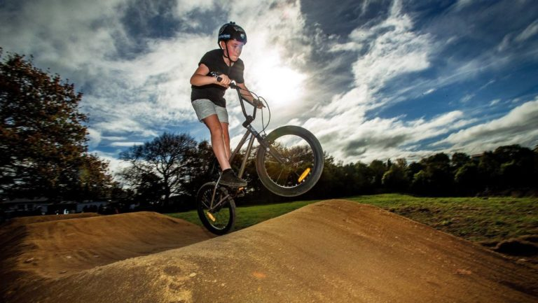 Bunnythorpe School's new BMX track ready to roll