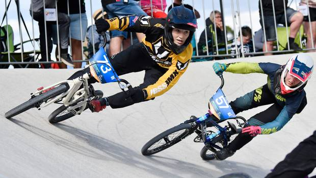 Sixth national BMX title for Rotorua's Megan Williams