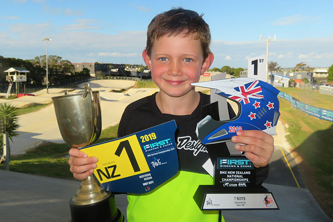 Six-year-old BMX rider heads to Belgium