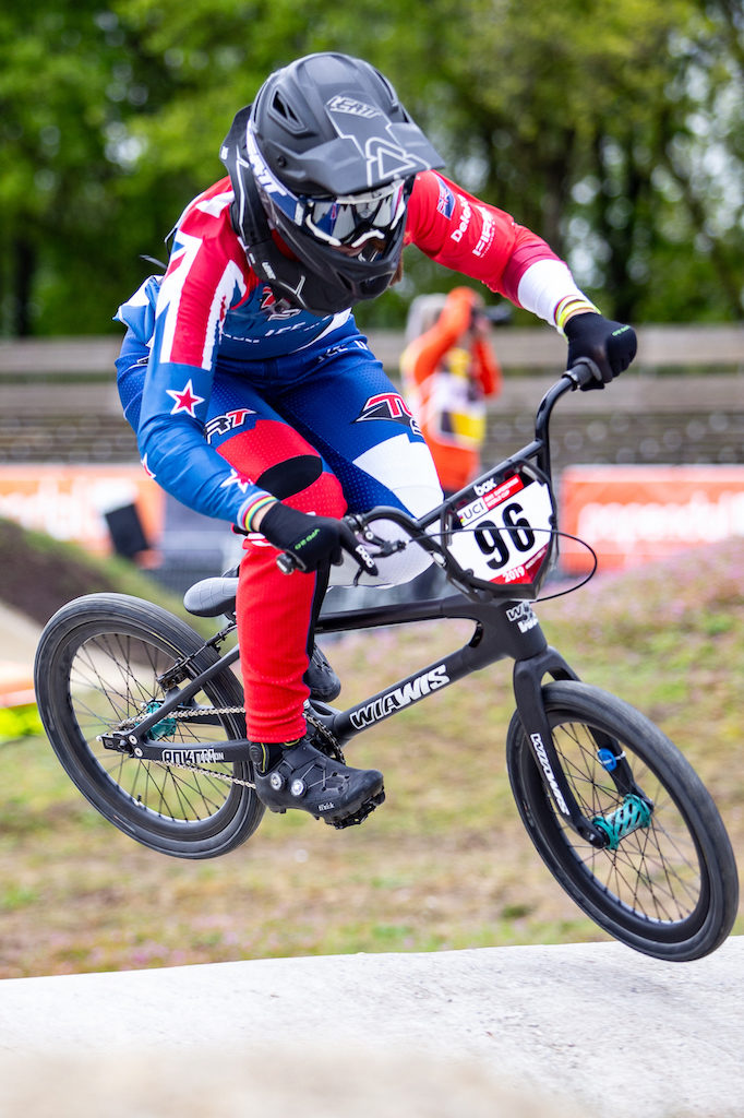 Walker banks more important BMX qualifying points in the Netherlands