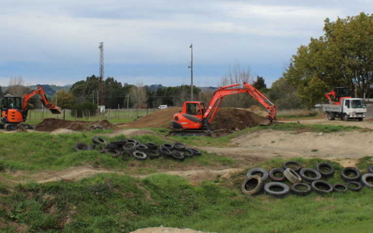 Upgrade under way for tired Masterton BMX park