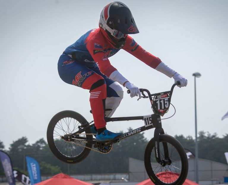 Waikato teen terrific in BMX Supercross World Cup breakthrough