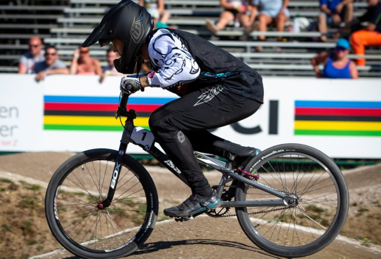 Bearman, Luttrell claim BMX world titles in Belgium