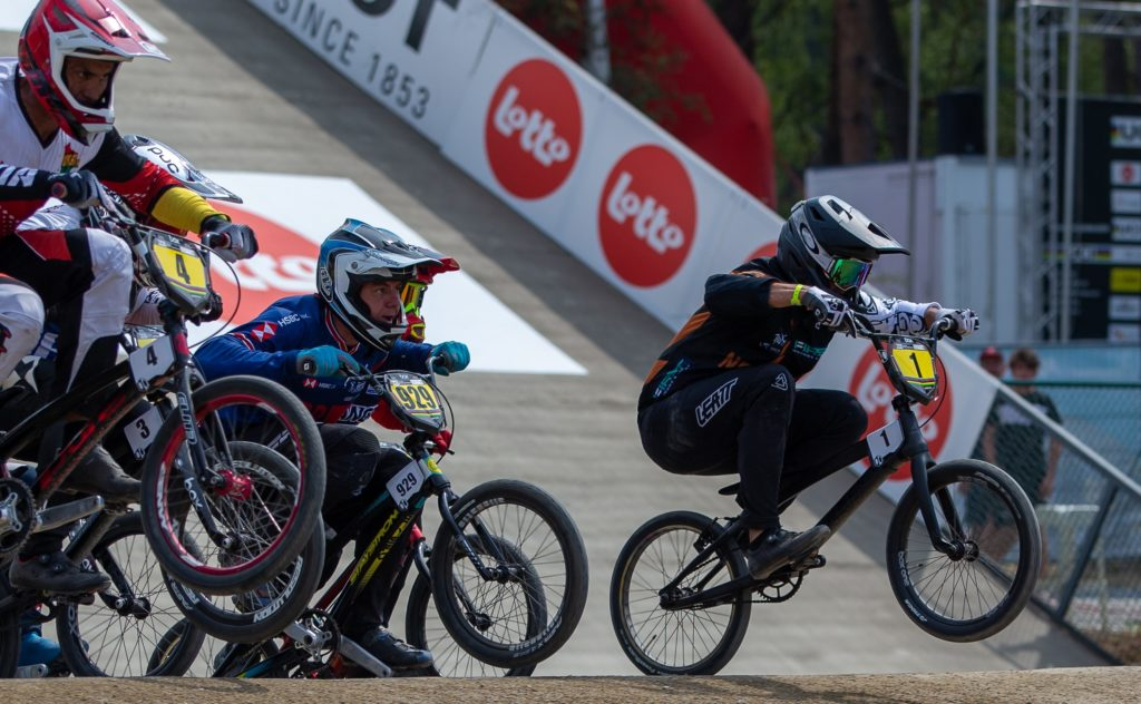 Cambridge rider earns sixth medal for kiwi BMX team