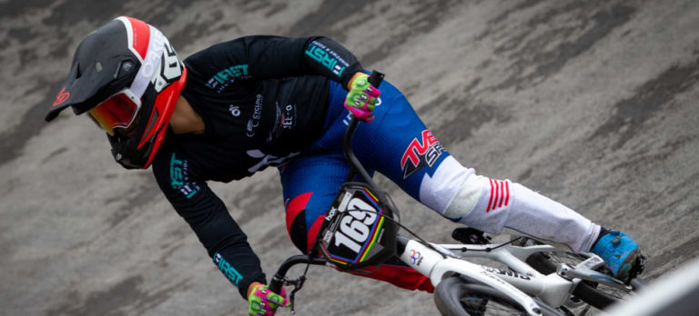 World BMX champ paints her own bright future
