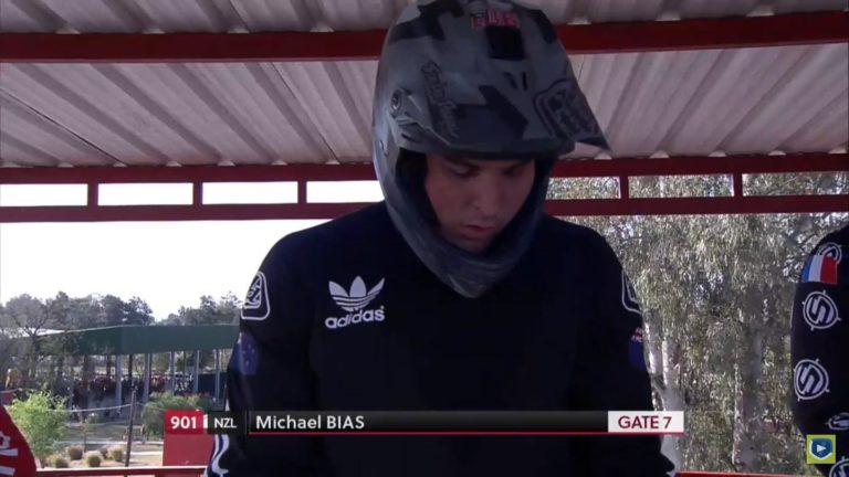 Bias bags BMX World Cup semifinal in Argentina