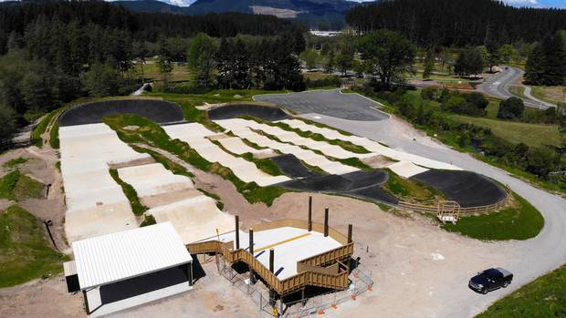 Excitement builds for grand opening of Te Papa o Te Kauri BMX track