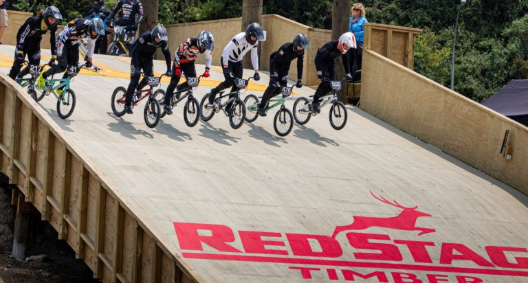 Petch claims honours in BMX international at new Rotorua track