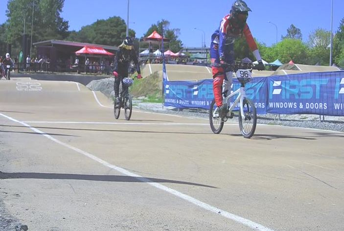 Bias and Petch claim elite titles at FIRST BMX National Championships