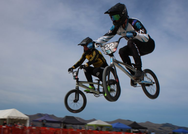 World-class BMX riders show skills in FIRST BMXNZ Nationals
