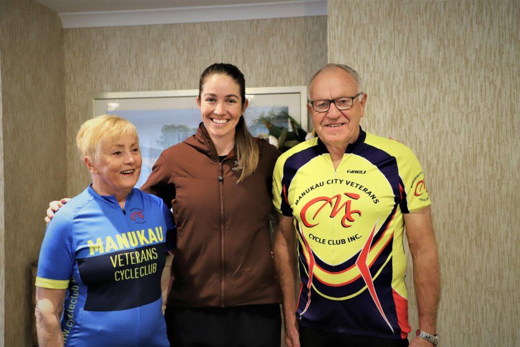 Sarah Walker inspired by Murray Halberg cyclists